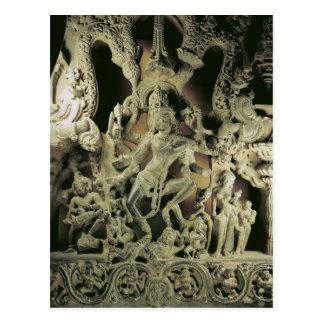 Lintel with Shiva Nataraja, Kakatiya dynasty Postcard
