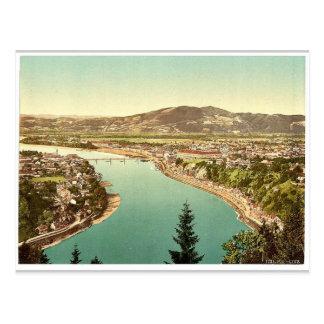 Lintz (i.e., Linz), general view, Upper Austria, A Postcard