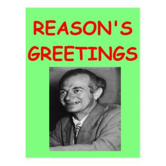 linus pauling postcard