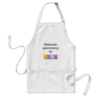 Linus periodic table name apron