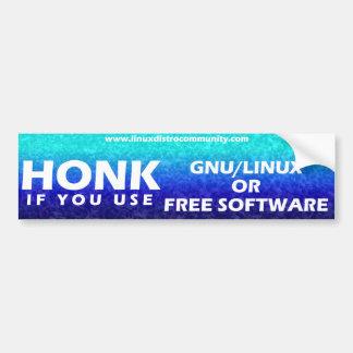 Linux Distro Community Bumper Sticker