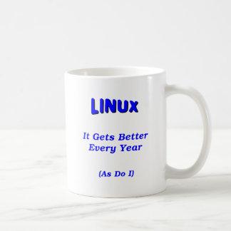 Linux Getting Better Coffee Mug