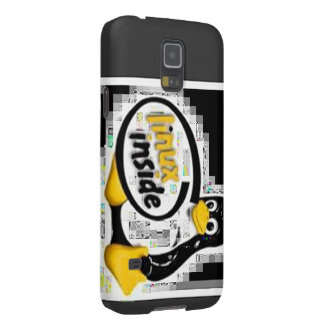 LINUX INSIDE Tux the Linux Penguin Logo Galaxy S5 Cover