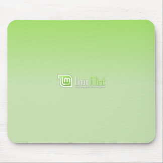 Linux Mint Green Mouse Pad