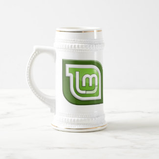 Linux Mint Logo Beer Stein