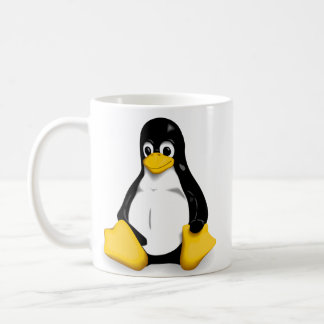 Linux Tux Coffee/Tea Mugs