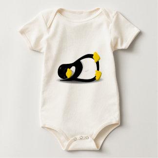Linux Tux sleeping Baby Bodysuit