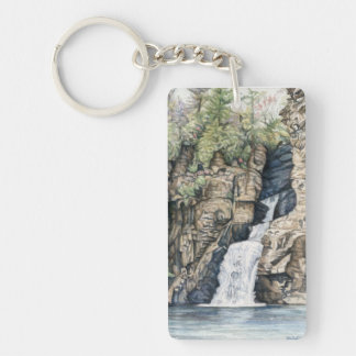 Linville Falls Keychain