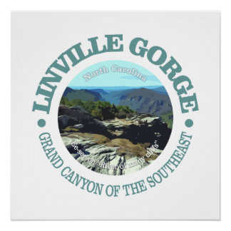 Linville Gorge Perfect Poster