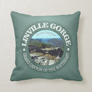 Linville Gorge Throw Pillow