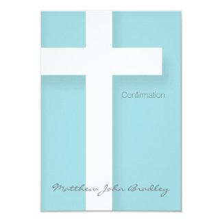 L'invitation moderne de confirmation choisissent carton d'invitation 8,89 cm x 12,70 cm