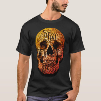 Liny Creations You Only Live Once Skull Tshirt