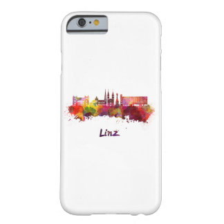 Linz skyline in watercolor barely there iPhone 6 case