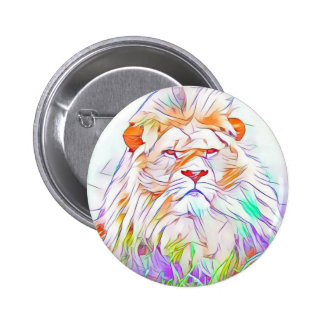 Lion 2 2 inch round button