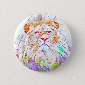 Lion 2 2 inch round button