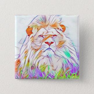Lion 2 2 inch square button