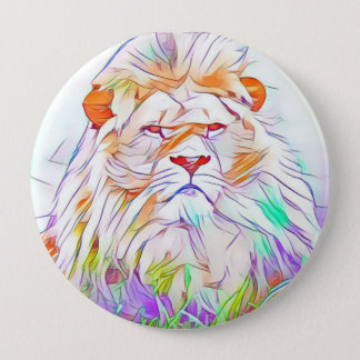 Lion 2 4 inch round button