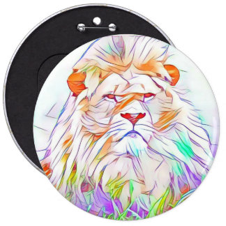 Lion 2 6 inch round button