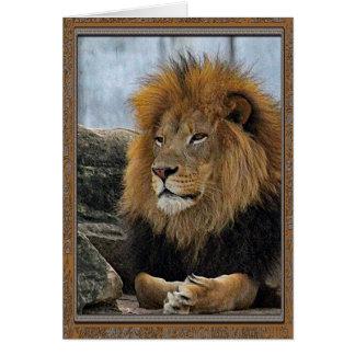 Lion 6880 Birthday Card