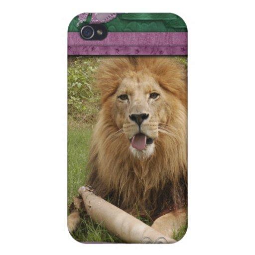 Lion africain étui iPhone 4