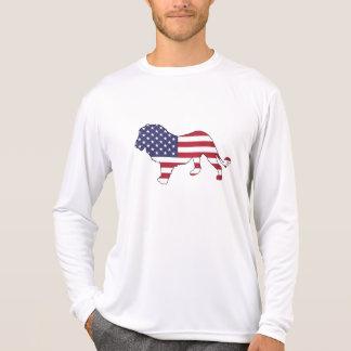 "Lion ""American Flag"" T-Shirt"