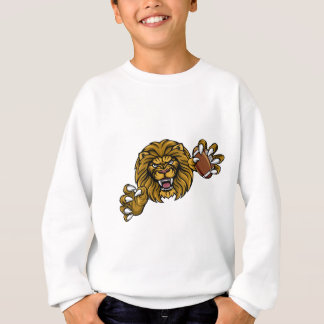 Lion American Football Ball Sports Mascot Sweatshirt