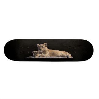 Lion and Cub Skateboard