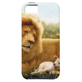 Lion and Lamb Case For The iPhone 5