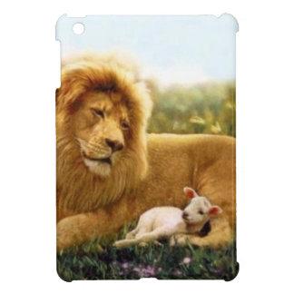 Lion and Lamb iPad Mini Cover