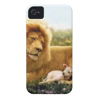 Lion and Lamb iPhone 4 Cases