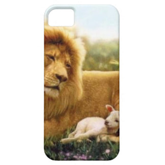 Lion and Lamb iPhone 5 Case