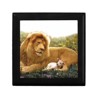 Lion and Lamb Keepsake Boxes