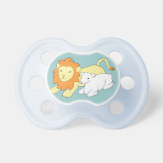 Lion and Lamb Pacifier