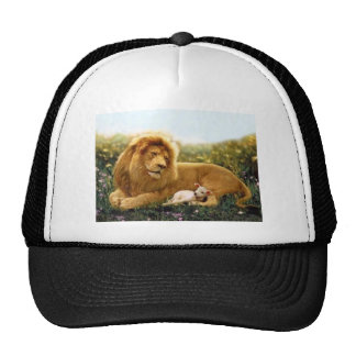 Lion and Lamb Trucker Hat
