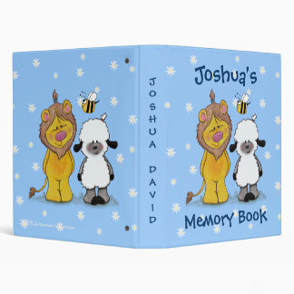 Lion and Lamb True Friends 3 Ring Binders