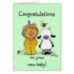 Lion and Lamb True Friends Cards