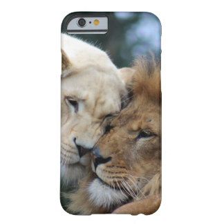 Lion and Lioness Barely There iPhone 6 Case