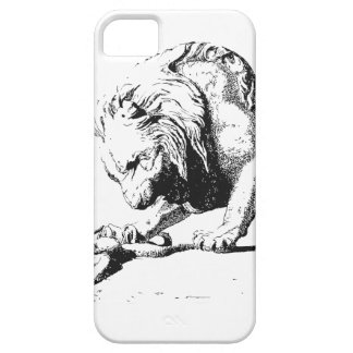 Lion And The Serpent iPhone 5 Case