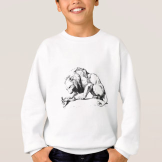Lion And The Serpent Sweatshirt