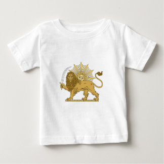 Lion and the sun baby T-Shirt