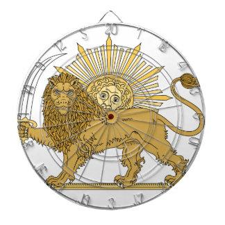 Lion and the sun dartboard