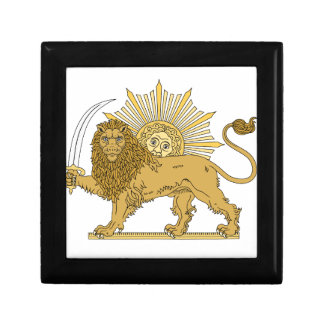 Lion and the sun gift box