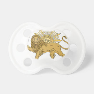 Lion and the sun pacifier
