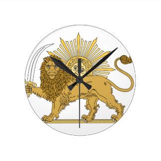 Lion and the sun wallclocks