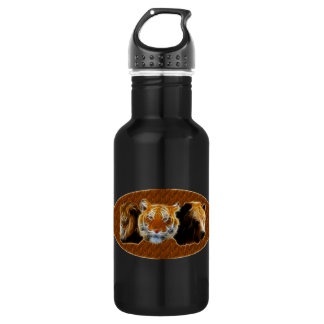 Lion And Tiger And Bear 532 Ml Water Bottle