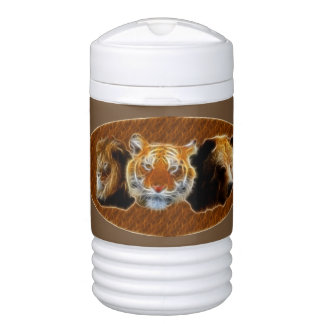 Lion And Tiger And Bear Drinks Cooler