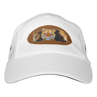 Lion And Tiger And Bear Hat