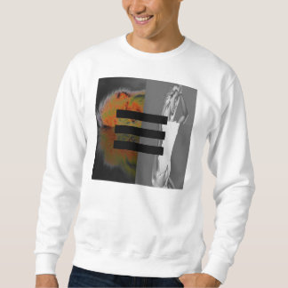 Lion and Woman - Men's Sweater