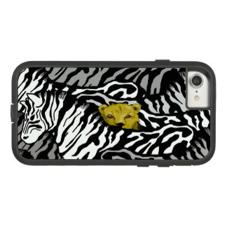 LION AND ZEBRAS PHONE COVER by Slipperywindow