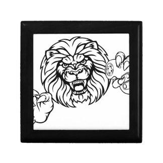 Lion Angry Esports Mascot Gift Box